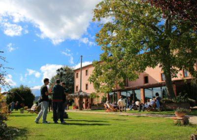 Autunno Agriturismo Santa Lucia dei Sibillini di Montefortino 1