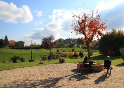 Autunno Agriturismo Santa Lucia dei Sibillini di Montefortino 10