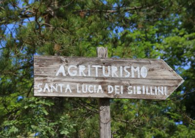 Estate Agriturismo Santa Lucia dei Sibillini Montefortino 10