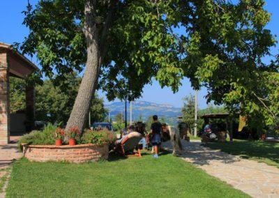 Estate Agriturismo Santa Lucia dei Sibillini Montefortino 21