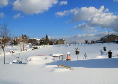 Inverno Agriturismo Santa Lucia dei Sibillini Montefortino 0