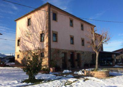 Inverno Agriturismo Santa Lucia dei Sibillini Montefortino 11