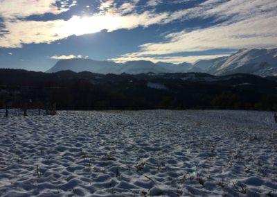 Inverno Agriturismo Santa Lucia dei Sibillini Montefortino 13