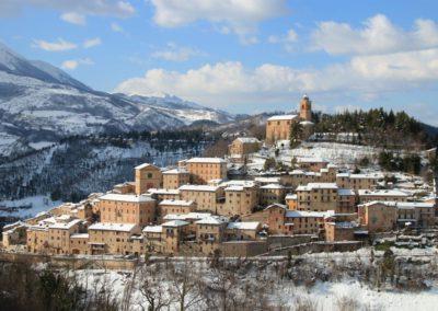 Inverno Agriturismo Santa Lucia dei Sibillini Montefortino 14