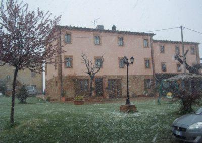 Inverno Agriturismo Santa Lucia dei Sibillini Montefortino 15