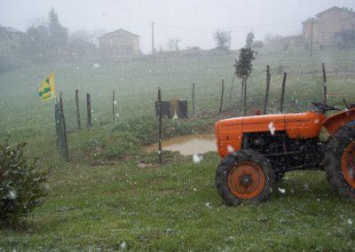 Inverno Agriturismo Santa Lucia dei Sibillini Montefortino 16