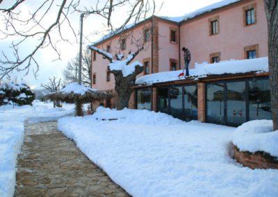Inverno Agriturismo Santa Lucia dei Sibillini Montefortino 2