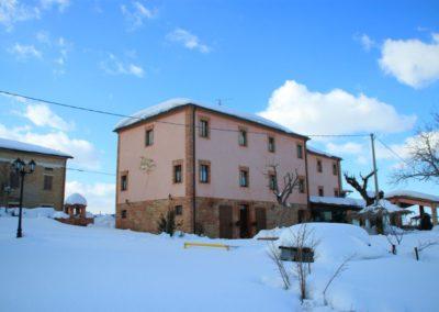 Inverno Agriturismo Santa Lucia dei Sibillini Montefortino 3