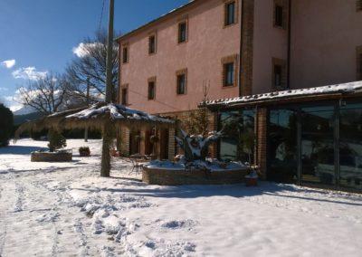 Inverno Agriturismo Santa Lucia dei Sibillini Montefortino 6