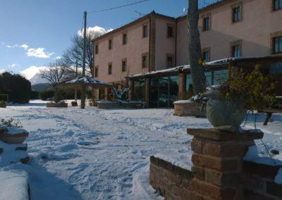 Inverno Agriturismo Santa Lucia dei Sibillini Montefortino 8
