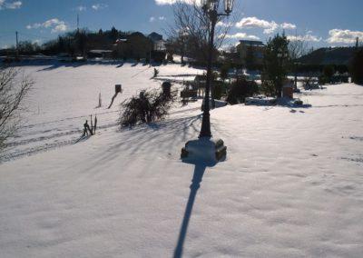 Inverno Agriturismo Santa Lucia dei Sibillini Montefortino 9