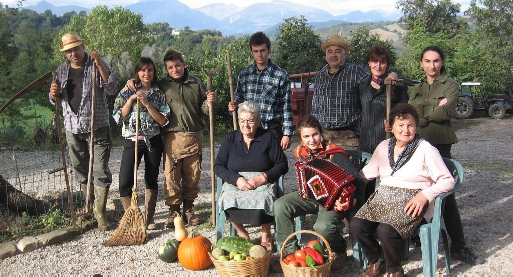 La Famiglia Molinari - Agriturismo Santa Lucia dei Sibillini