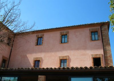 Le Camere dell'Agriturismo Santa Lucia dei Sibillini di Montefortino in provincia di Fermo14
